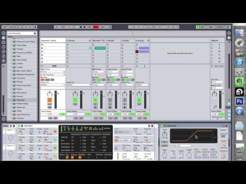 How to Ableton Bass Part 1 -Dubstep, Electro, Filthy Bass with FM Synthesis