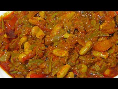 చిక్కుడుకాయ మసాల కర్రీ ఇలా చేసుకుంటే అదిరిపోతుంది /andhra special broad beans tomato masala curry