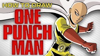 how to draw ONE PUNCH MAN | Butch Hartman