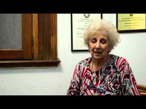 Entrevista Estela de Carlotto