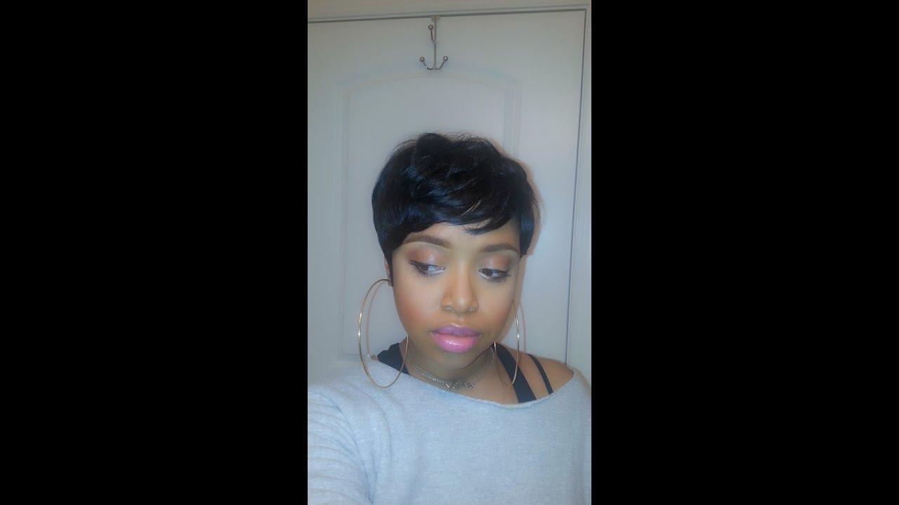 Sensationnel Bump Human Hair Wig Easy 27 Youtube