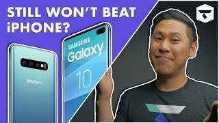 LEAKED GALAXY S10 Hands-On: Can it OVERTHROW the Apple iPhone XS & XR?
