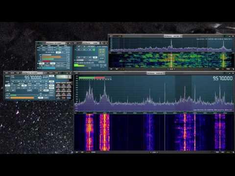 9570 CRI (China Radio International) via Cerrik, Albania with wide band audio