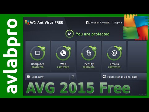 AVG 2015 Free Antivirus Install and Advanced Settings