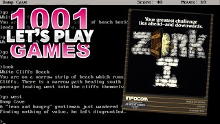 Zork I (DOS) - Let's Play 1001 Games - Episode 165