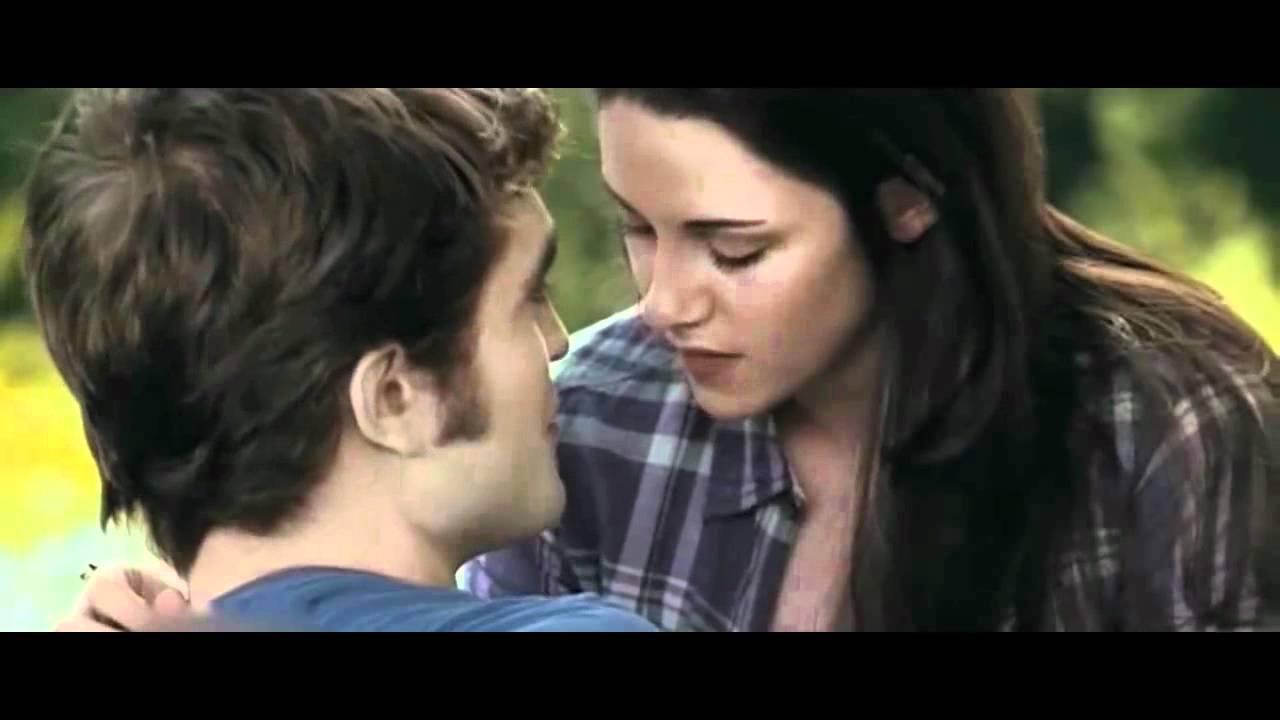 twilight kisses edward and bella youtube