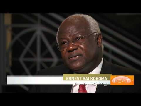 The Heat: Ernest Bai Koroma, President, Sierra Leone at UN70
