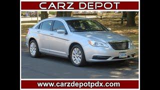 2012 Chrysler 200 LX Excellent MPG!  Local PDX car! EZ FINANCING! (portland, Oregon)