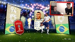 FIFA 18: WORLD CUP! Road to RONALDO! XXL PACK OPENING 🌍🏆💥