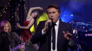 Bryan Ferry on The Late Show with David Letterman