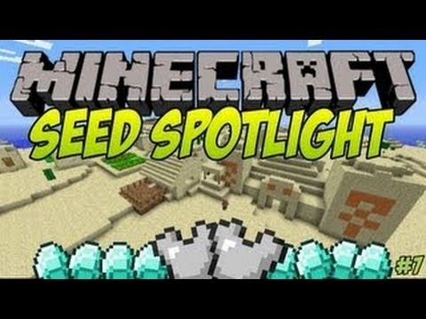 Minecraft 1.6.2 Seeds   Big Village. Temple & Amazing Loot!