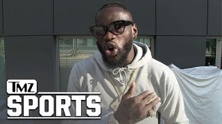 Deontay Wilder Says Floyd Mayweather Is A Jealous Hater | TMZ Sports