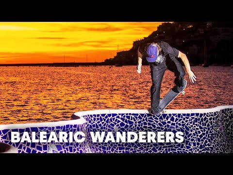 The eclectic Pusher Bearings team skate the Balearics: Valls, Curtin and crew go in!