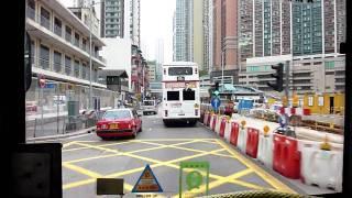 Hong Kong Bus KMB AD348 @ 49X 九龍巴士 Dennis Dragon 荃灣眾安街-長安巴士總站