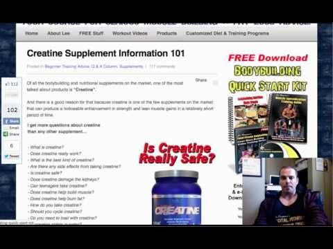 CREATINE FAQ - is it safe? should you use it? best kind?