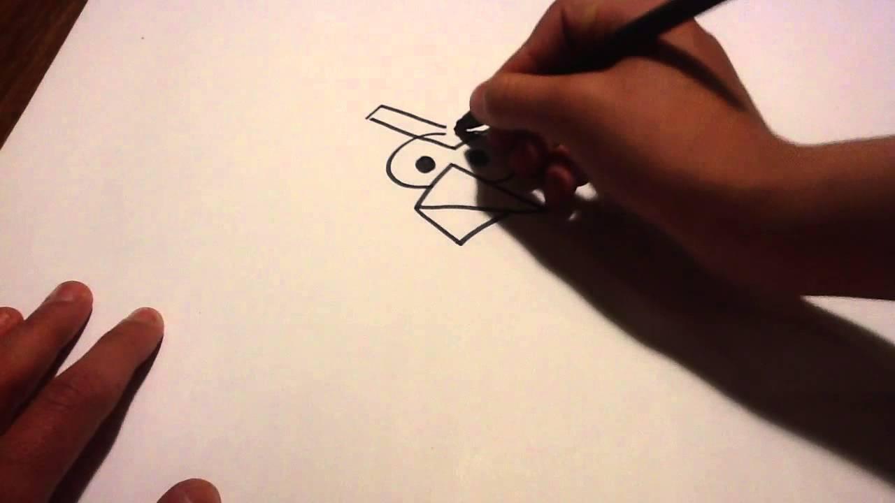 Dessiner un oiseau de angry birds dessiner l 39 oiseau rouge conseils dessin youtube - Angry bird dessin ...