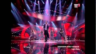 Can Bonomo Eurovision Yarı Final Performansı 24.05.2012 [HD]