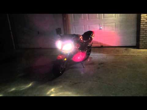Sxr-250 sound (i named her megan)