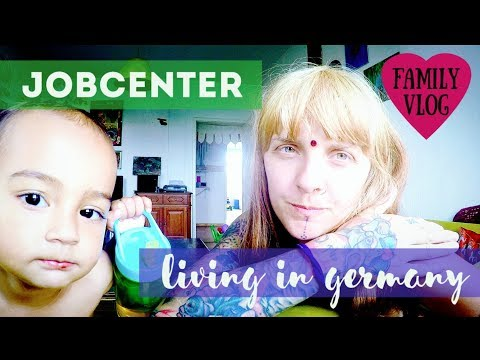 DAY 30 | JOBCENTER | LIVING IN GERMANY | FAMILY VLOG