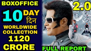 Robot 2.0 10th day boxoffice Collection, Robot 2.0 Worldwide Collection, AKSHAY KUMAR RAJNIKANT