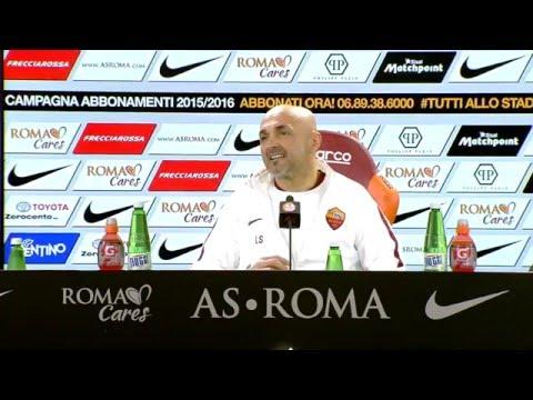 """Spalletti: """"Gervinho voleva andare via in tutti i modi. Salah è penalizzato dall'infortunio"""""""