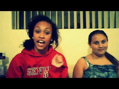My sister and me singing Look at Me Now (: