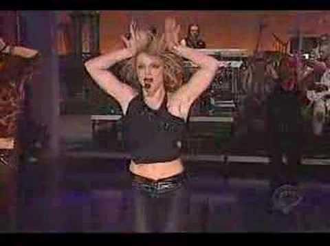 I'm a Slave 4 U (Letterman Show)