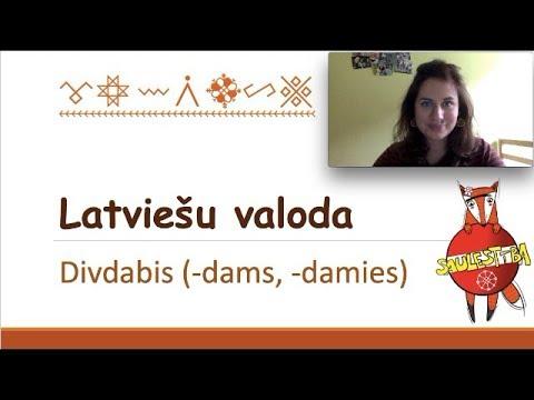 Грамматическая 5минутка #8 || Деепричастие / Divdabis -dams / -damies