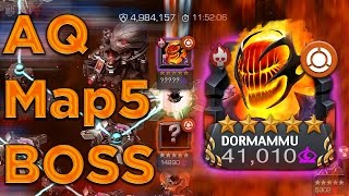 AQ Season 4 Map 5 Dormammu Boss Fight [Noded FULL KILL!!!]