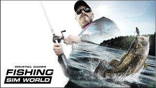 PS4 Games | Fishing Sim World – Announce Trailer 🎮