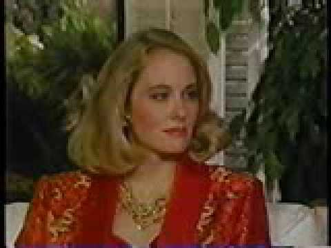 Cybill Shepherd on Barbara Walters '86