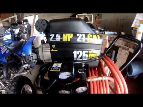Central Pneumatic 21 Gallon 2.5hp Air compressor