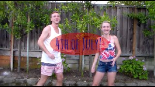 4th of July: Hair, Brother Sister OOTD, and DIY!