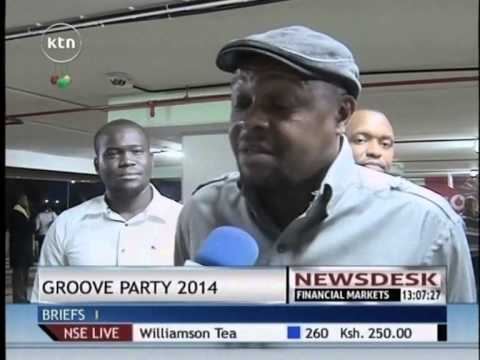 Pastor Solly Mahlangu Arrives In Kenya For The Groove Party 2014 video