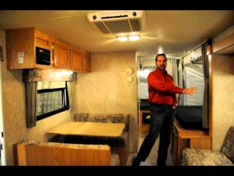 2006 KZ Coyote 23CFK Hybrid Travel Trailer YouTube