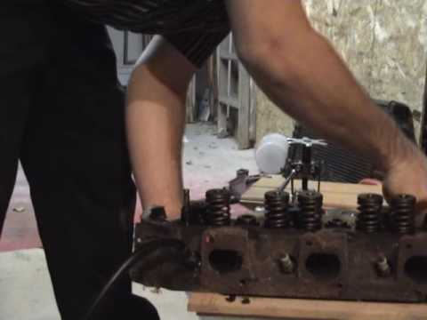 How to replace valve seals on your engine   YouTube