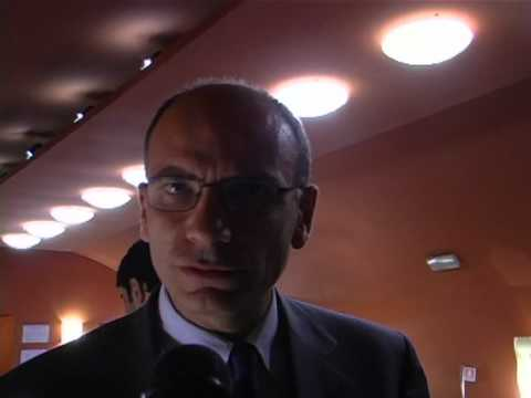 Enrico Letta vice segretario PD - workshop