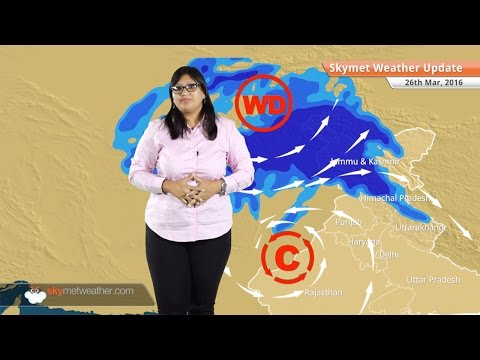 Weather Forecast for March 26: Snow in Kashmir, Himachal, heat wave grips Gujarat, MP, Maharashtra