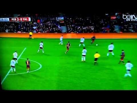 Lionel Messi Goal vs Valencia 3-0 2/3/16 Gol de Me