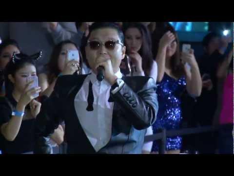 Psy Oppa Birthday Gangnam Style Pure Nightclub Las Vegas 12-29-12