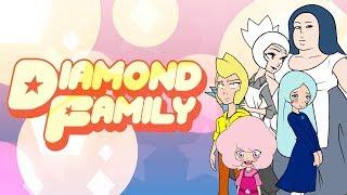 Steven Universe AU Diamond Family Halloween