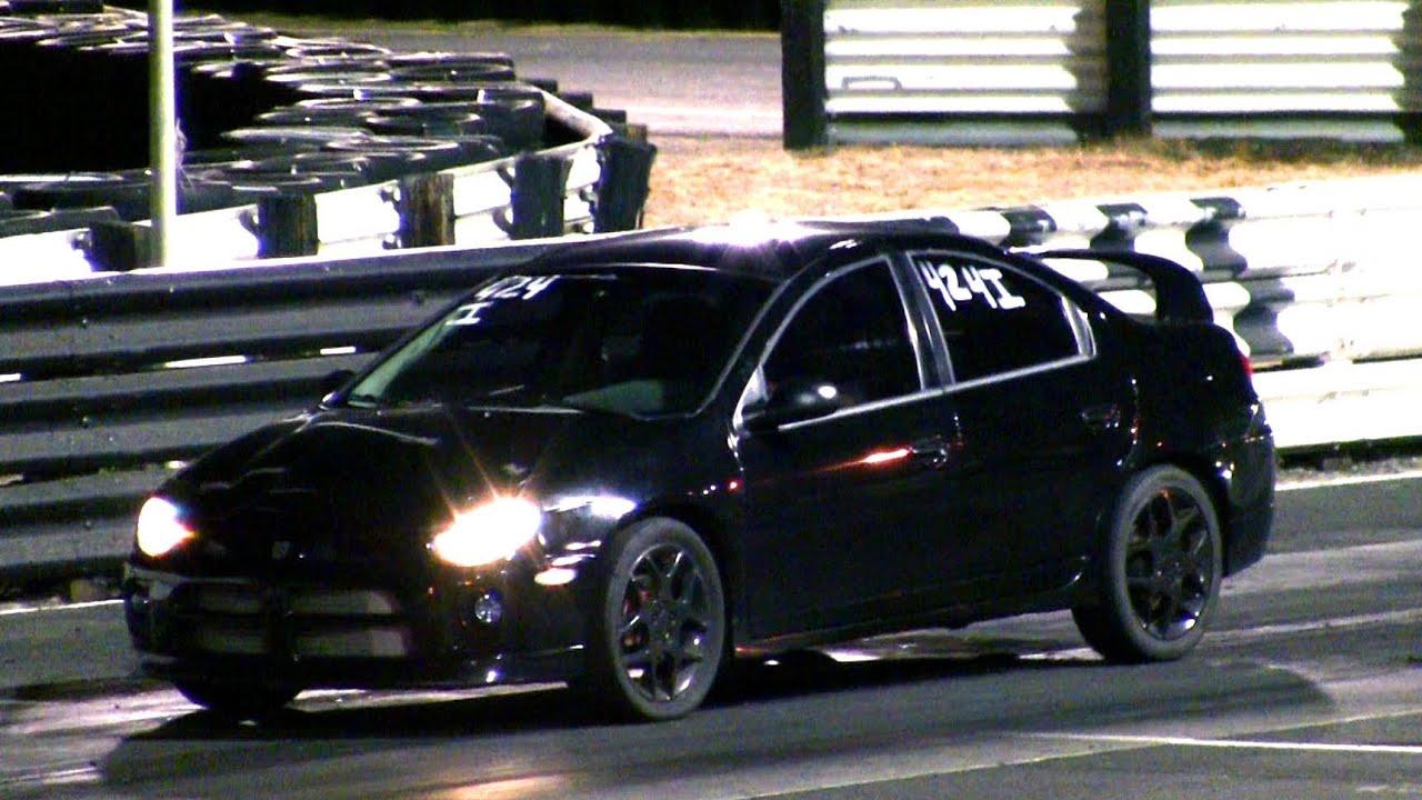 BOOSTED Neon SRT-4 Turbo Launch - Dodge SRT4 A853 Mopar - YouTube
