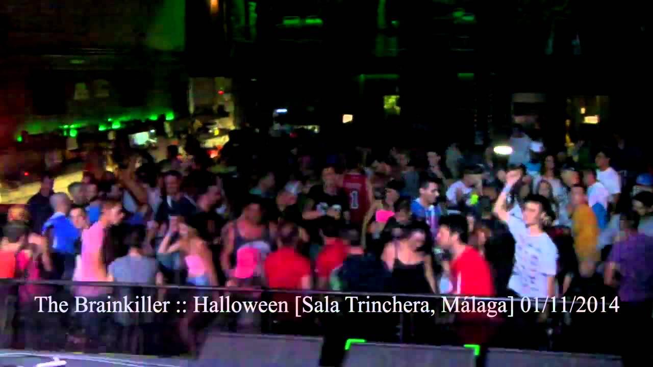 The brainkiller halloween 01 11 14 sala trinchera for Sala trinchera