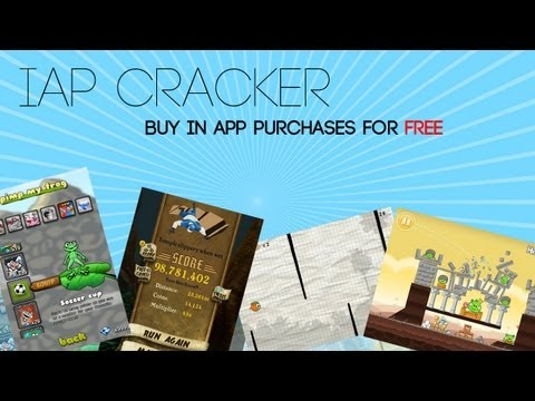 iAP Cracker- Get In APP Purchases For Free (Cheat on any game that you have on your iDevice)