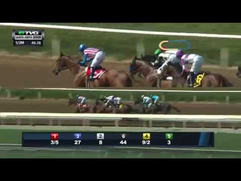 RACE REPLAY: 2015 Santa Anita Derby