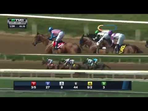 RACE REPLAY: 2015 Santa Anita Derby