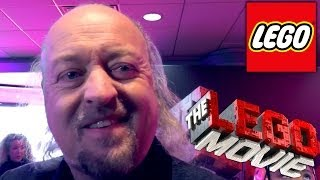 The Lego Movie Premiere -- Bill Bailey Talks Video-Games and Comedy Tips