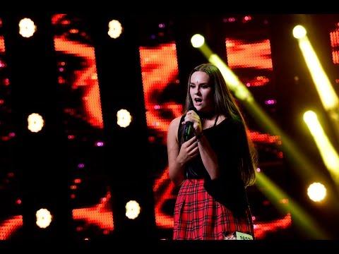 Scorpions - Still Loving You. Vezi aici cum cântă Alesia Dragoş Bumb, la X Factor!