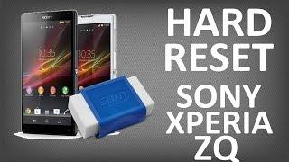 Sony st27i как сделать hard reset