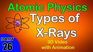 Types of X-Rays | Atomic Physics|class 12 physics subject notes lectures|CBSE|IITJEE|NEET